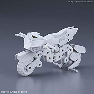 Bandai Hobby BAN230362 HGBC 1/144#41 Máquina Rider Gundam Build Divers, Color Blanco