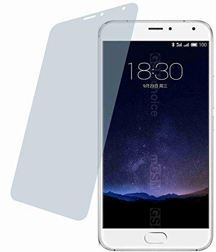 4ProTec Meizu Pro 5 (4 Stück) Premium Bildschirmschutzfolie Displayschutzfolie kristallklar - Kratzfest UND PASSGENAU