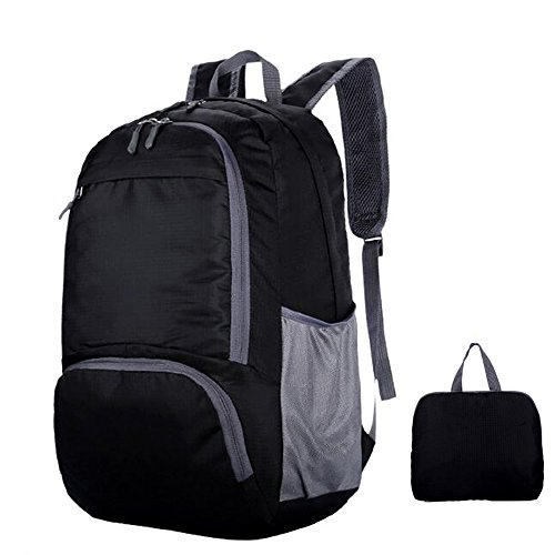 35L Sac à dos de sport Ultra léger sac à dos pliable imperméable nylon extérieur ordinateur portable unisexe cyclisme Sac Pour voyage fitness étanche camping école de randonnée sac Daypack