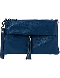 Amazon.it  Blu - Pochette e Clutch   Donna  Scarpe e borse f4058e50f54