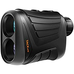 TACKLIFE Télémètre Golf 800m MLR01/Télescope Monoculaire 875yd/Grossissement 7 * 24mm/Précision de Distance 1m, de Vitesse 5km/h, d'angle 1°/Verrouillage du Mât/Batterie Rechargeable 3.7V 750mAh/IP54