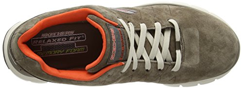 SkechersSkech-Flex Natural Vigor - Sneaker uomo Marrone (BROR)
