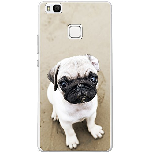 carlino-pugs-love-little-dogs-custodia-rigida-per-telefoni-cellulari-plastica-pug-puppy-on-sandy-bea