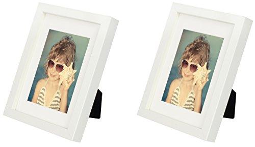 men mit Passepartout 10 x 15 cm, 2-Pack, Weiß ()