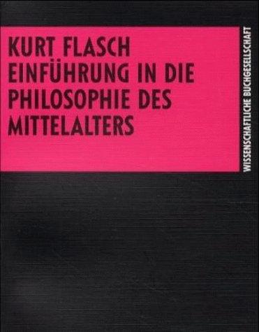 Einführung in die Philosophie des Mittelalters