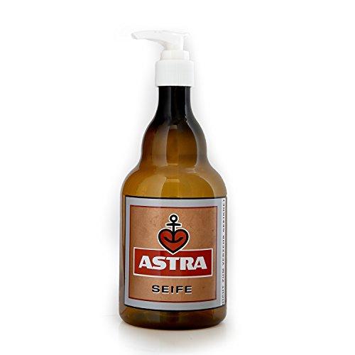 Astra Seifenspender (Pet) für Bad + Küche,für Männer & Frauen, Geschenk-Ideen aus St. Pauli (Bier Seifenspender)
