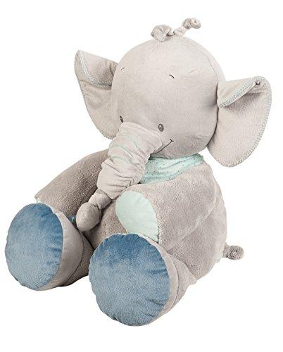 Nattou Peluche Géante pour Bébé, Garçon, 60 cm, vert - Jack l'éléphant