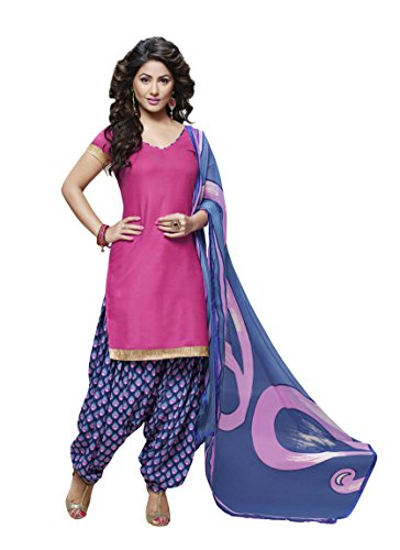 Miraan Unstitched Cotton Patiyala Suit / Dress Material for Women | Party wear | Free Delivery