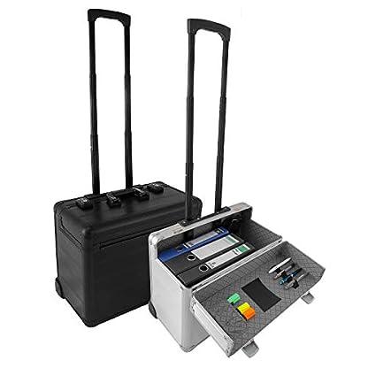 Business-Trolley-Pilotenkoffer-Laptopfach-TSA-Schlsser-Aluminium-Oberflche-Farbwahl