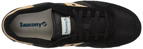Saucony Shadow Original Unisexe Adulte, Daim, Baskets Basses Noir