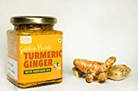 FORE HEALTH: Premium Quality, Nutritious & Delicious Turmeric & Ginger Pickle/Haldi, adrakh ka achar in Mustard Oil (225 g)