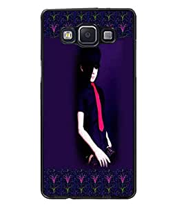 PrintDhaba Girl Design D-2473 Back Case Cover for SAMSUNG GALAXY A5 (Multi-Coloured)
