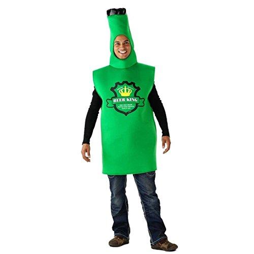 Kostüm Bierflasche Grüne - Folat 21951 Grünes Bierflaschen-Kostüm Erwachsene, One Size
