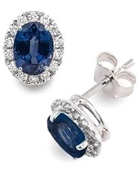 Diamond Manufacturers - Boucles d'Oreilles Femme avec 28 diamanten - Platine