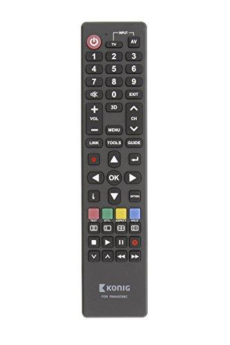 Eurosell Ersatz Fernbedienung für ALLE Panasonic Fernseher TV Fernseh Geräte zb für TX-49EXW604 VIERA TX-40ESW504 TX-55EXW604S TX-58EXW734 TX-55EXW604 TX-P55VT50E TX-49DXW604 TX-32ESW504 TX-50EXW734