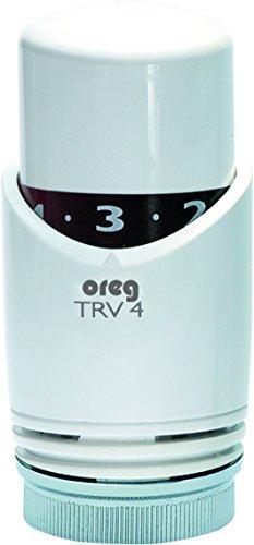 Eberle TRV 4 tête de thermostat 0707007 g blanc
