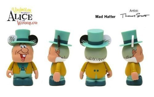 Disney Vinylmation 3 inch Alice in Wonderland Series Mad Hatter NEW by Vinylmation