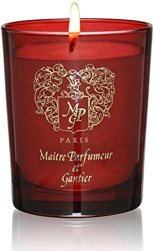 MAITRE PARFUMEUR ET GANTIER Bougie Ambre Mythique, 180 g