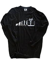 Shirtzshop T-shirt Silber Edition Wrestling im Ring Wrestler Ringer Evolution