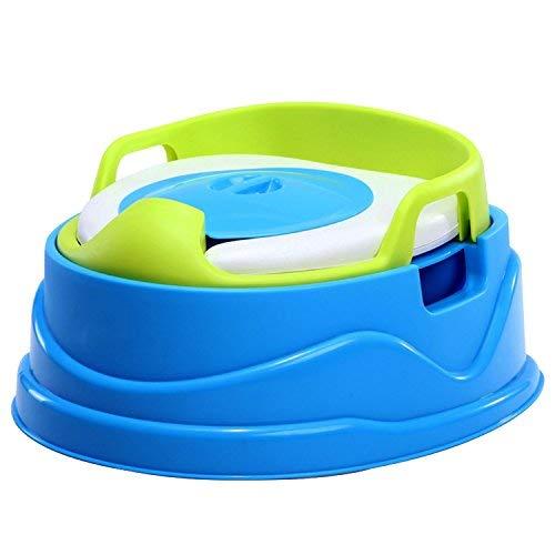 Kinder-Töpfchen mit Toilettentrainer von Skaize | Abnehmbarer WC Topf, Umwandelbar, Kinder-Toilette für Mädchen und Jungen (Blau)