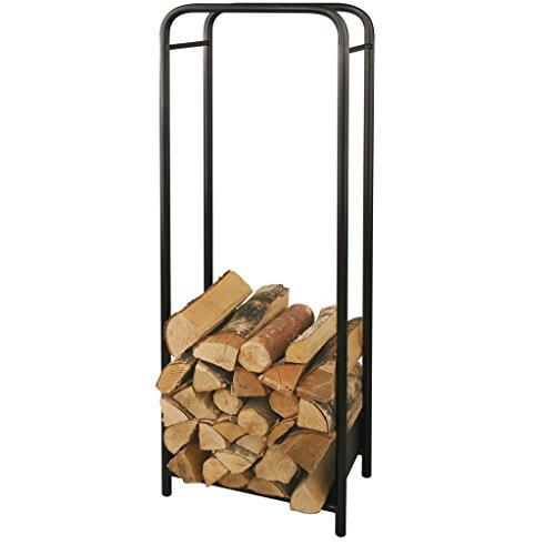 Étagère pour bois de cheminée