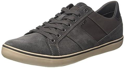 Geox Herren U Box I Sneaker, Grau (Anthracite), 42 EU