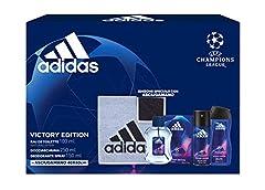 Idea Regalo - Adidas Confezione Regalo Uomo UEFA Champions League Victory Edition, 500 ml