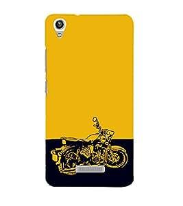 EPICCASE Trendy Bike Mobile Back Case Cover For Lava Pixel V1 (Designer Case)