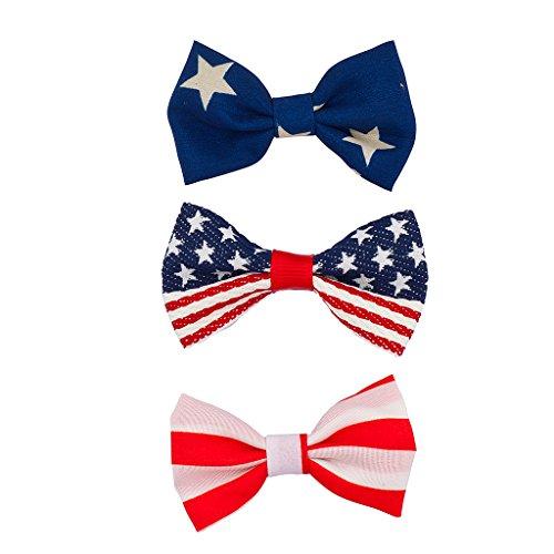 lux-accessori-4-luglio-giorno-dell-indipendenza-patriottico-fiocco-confezione-da-3