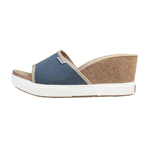 zeppe scarpe Superga S31P676_BLU Blu