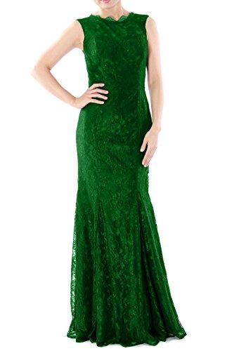 MACloth - Robe - Moulante - Sans Manche - Femme Vert - Vert foncé