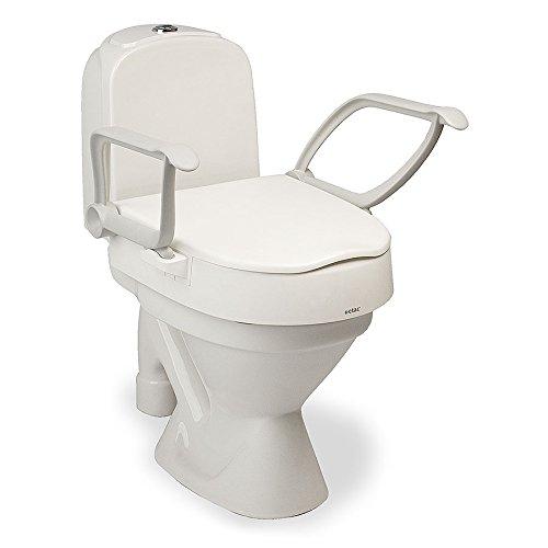 Etac Toilettensitzerhöhung, verstellbar, mit Armlehnen
