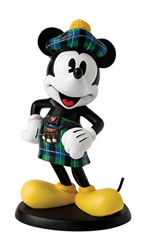ting Disney Mickey Mouse Scottish Figur (Disney Charakter-outfit)