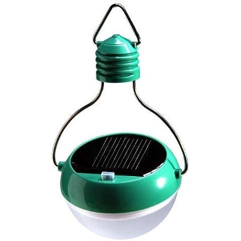 N. scelta Super Bright impermeabile LED solare 7lampadine LED Sport luce 3W 2V/100mA nuovo portatile per esterni a energia solare da campeggio lanterna lampada
