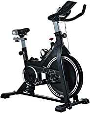 Fitkit FK717 (14lbs Flywheel) with Free Diet Plan,Trainer & Installation Services Spinner Exercise