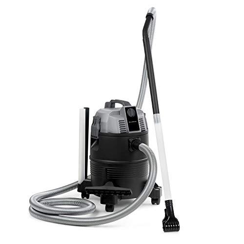 Leistung Vakuum Beutel (Waldbeck Lakeside Power Teichsauger • Poolsauger • Nass-Trocken-Sauger • Schlammsauger • 1400 W Leistung • Saugleistung: 18 kPa • 35 l Tank • DryGo Self-Drainage • Gebläsefunktion • HEPA-Filter • grau)