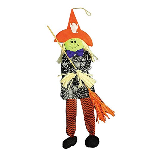 Quaan 1 Stück Halloween Requisiten Papier Dauerhaft Anhänger Etikett zum Geist Festival KTV Bar Fenster Kinder Schlüssel Kette Party Festival Requisiten Spielzeug Grusel Dekorationen