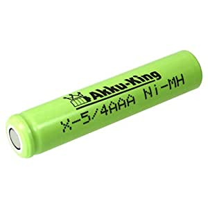 Industrie x8005 4AAA batteries, taille 5, 4 aAA 1.2 v 800mAh