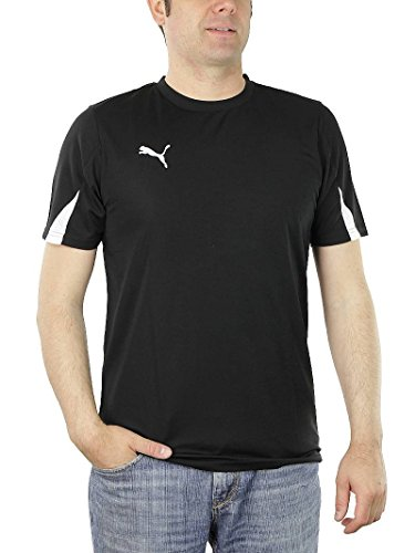 PUMA KC Team Ticino Herren Trikot T-Shirt schwarz Trainingstrikot Black