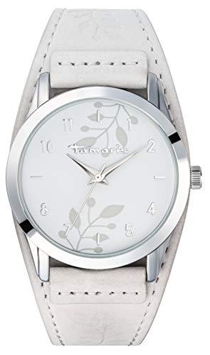 Tamaris Alena Damenuhr Armbanduhr weiß
