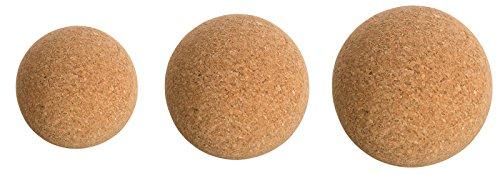 Korkkugel Faszienball aus Kork. Faszien & Triggerpunkt-Massage Fitness Yoga 7cm