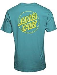 Santa Cruz Outline Dot Men's T-shirt - Baltic Blue