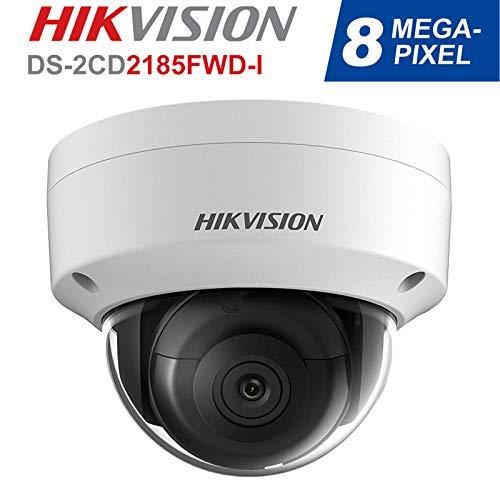 Hikvision DS-2CD2185FWD-I Überwachungskamera, 8 MP, hohe Auflösung, H.265 + IP67 Firmware erweiterbar, Internationale Version (2,8 mm Objektiv)