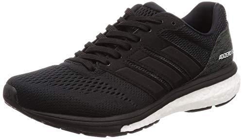 adidas Damen Adizero Boston 7 w Fitnessschuhe, Schwarz (NEGBÁS/FTWBLA/Carbon 000), 41 1/3 EU -