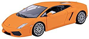 Motor MAX mm73362or-Lamborghini lp560-4, vehículos, Color Naranja