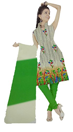 Rps Globe Traditional Beautiful and Attractive Multi Color Cotton Unstiched Salwar Suit...