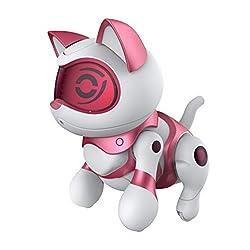 Splash Toys 30646 - Teksta Newborn, Roboter Haustier, Kätzchen, rosa