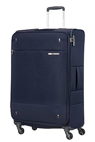 SAMSONITE Base Boost - Spinner 78/29 Expandable Bagage cabine, 78 cm, 105 liters, Bleu (Navy Blue)