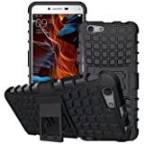 SnS Rugged, Armor, Defender, Hybrid Back Case Cover with Kickstand for Oppo F3
