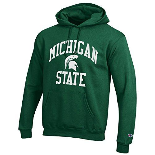 978dc18c85483 Sudadera verde con capucha Michigan State NCAA de Champion